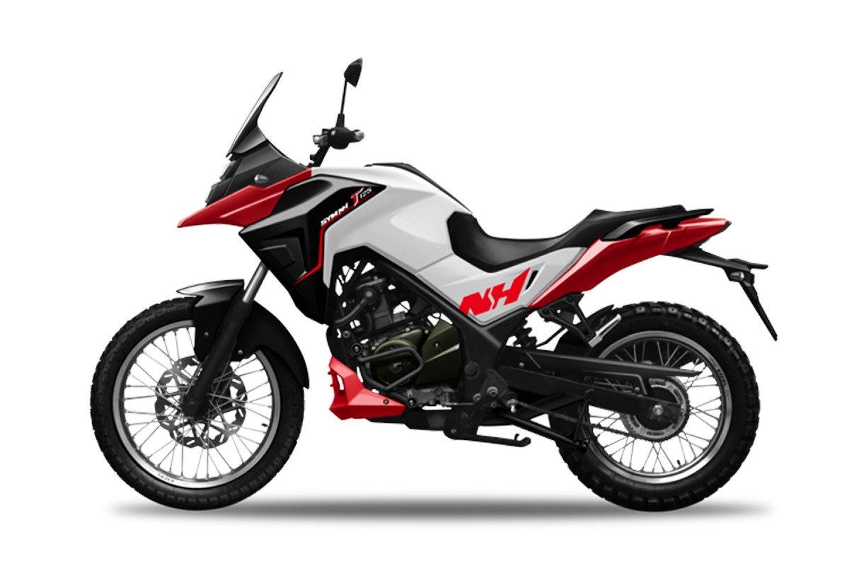 Red SYM NHT 125cc E4