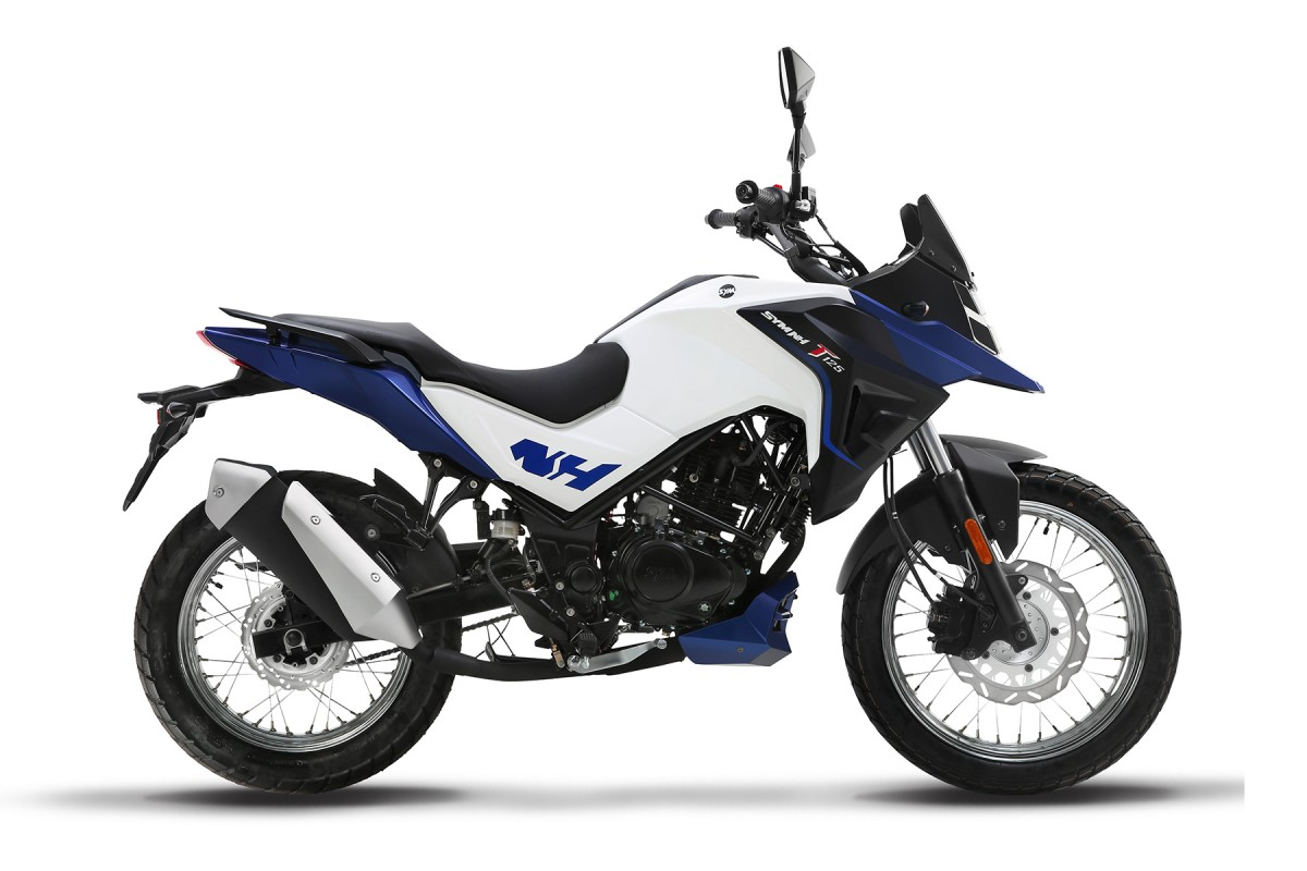 White/Blue NHT 125cc
