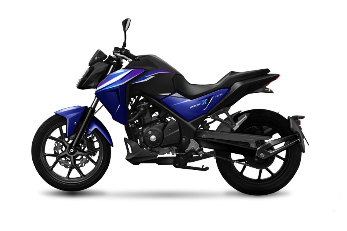 Blue NHX 125cc