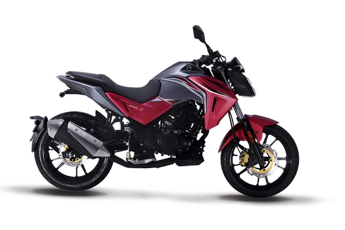 Red SYM NHX 125cc E4