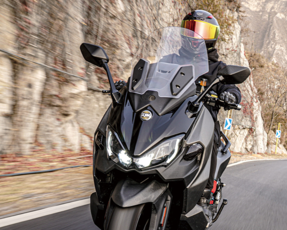 SYM OFFERS AN INDUSTRY LEADING 5 YEAR WARRANTY ON ALL MODELS 120CC AND OVER*