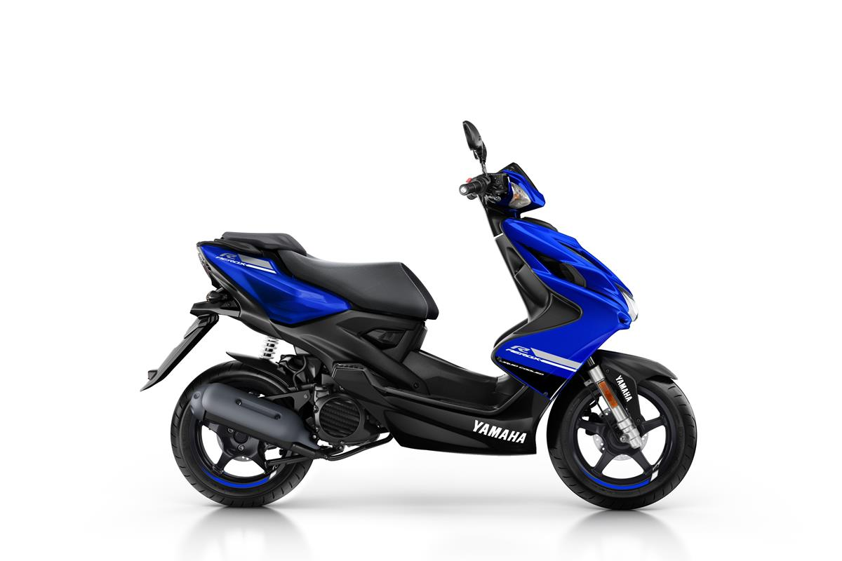 New Race BlueYamaha Aerox R 4-Stroke