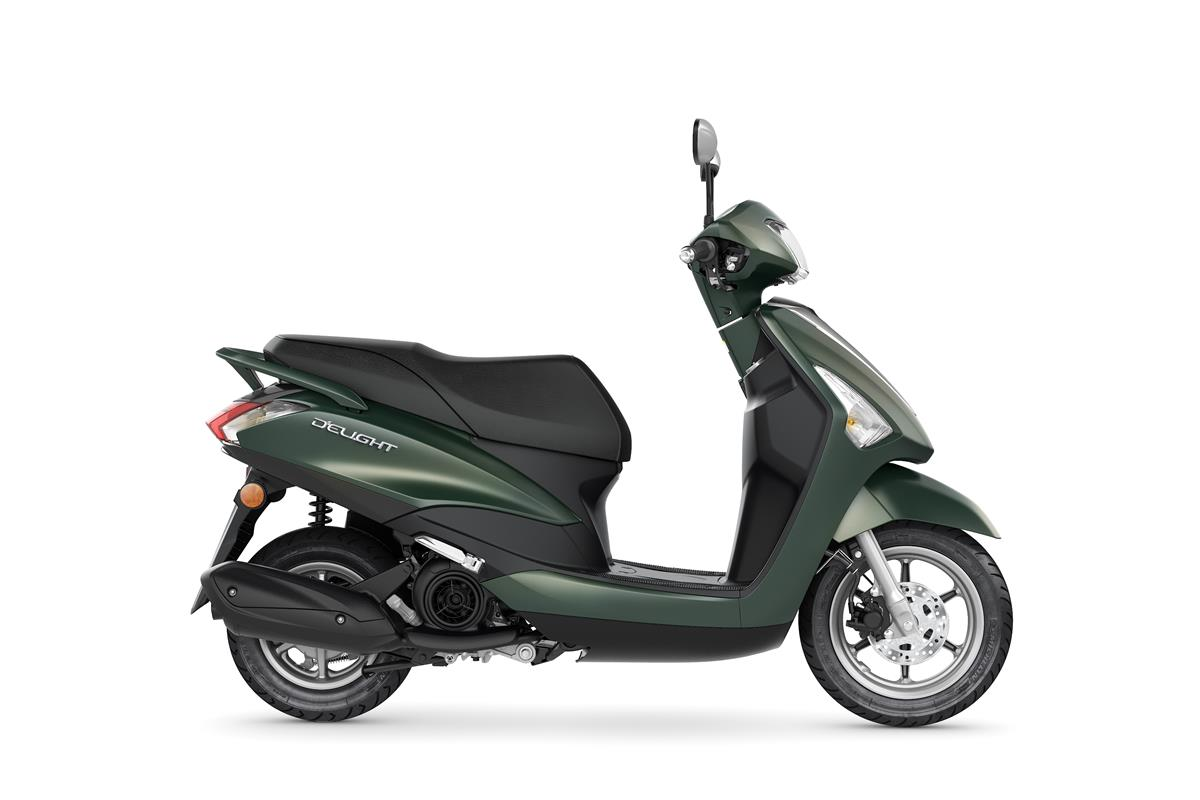 New Velvet GreenYamaha D'elight 125