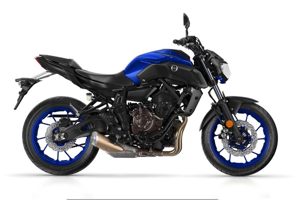 Yamaha Blue MT-07