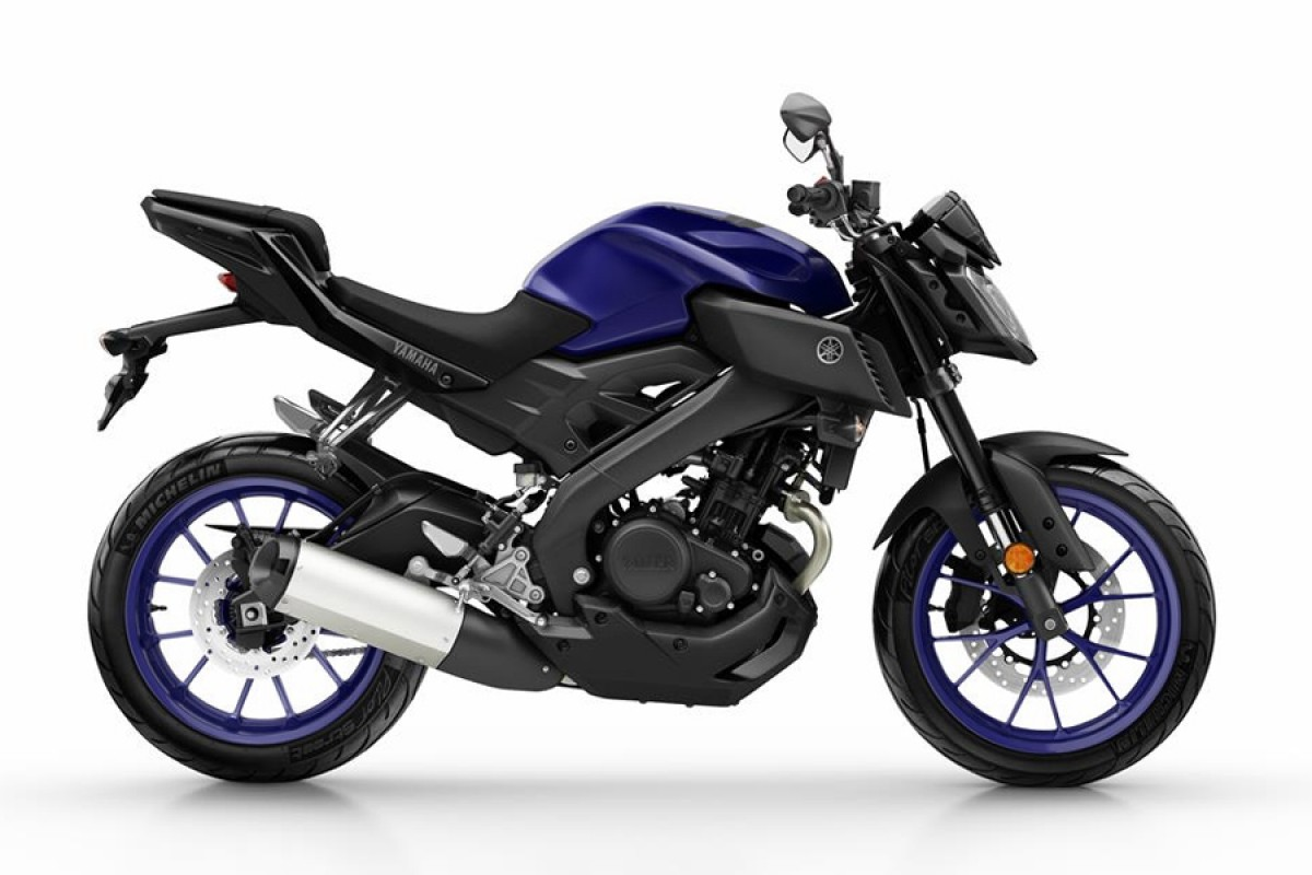 Yamaha Blue MT-125 2019