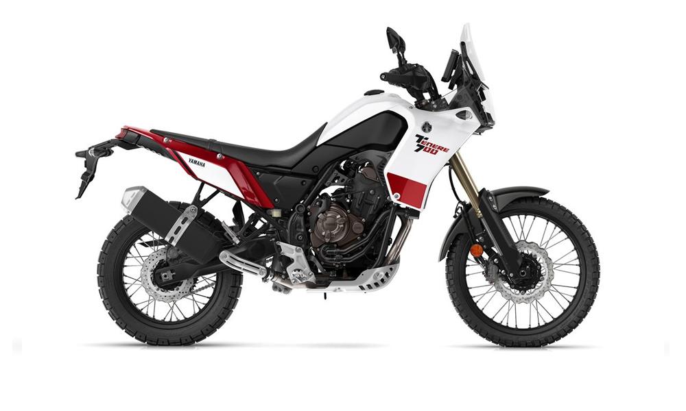 White/Red Tenere 700