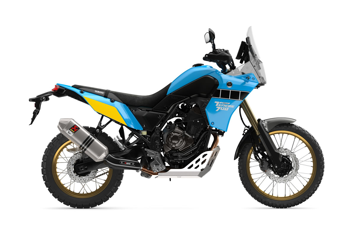 Sky Blue Tenere 700 Rally Edition