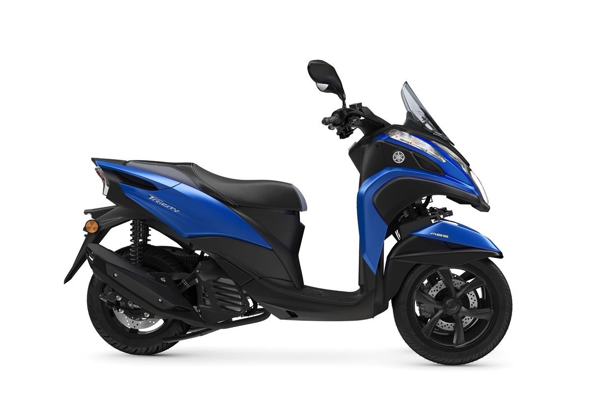 Cyber Blue Tricity 125
