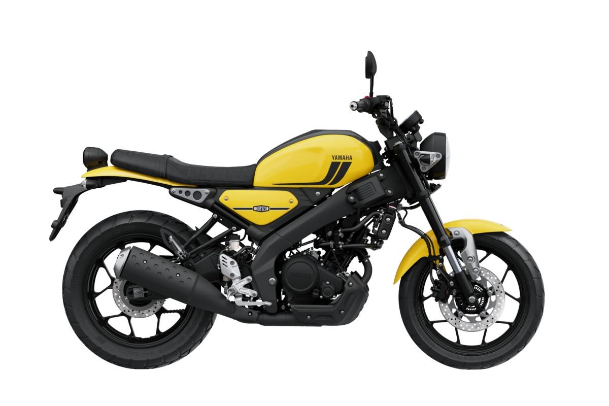 Impact Yellow XSR125