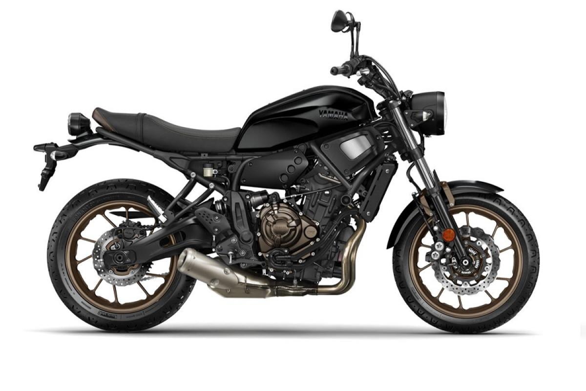 Tech Black XSR700