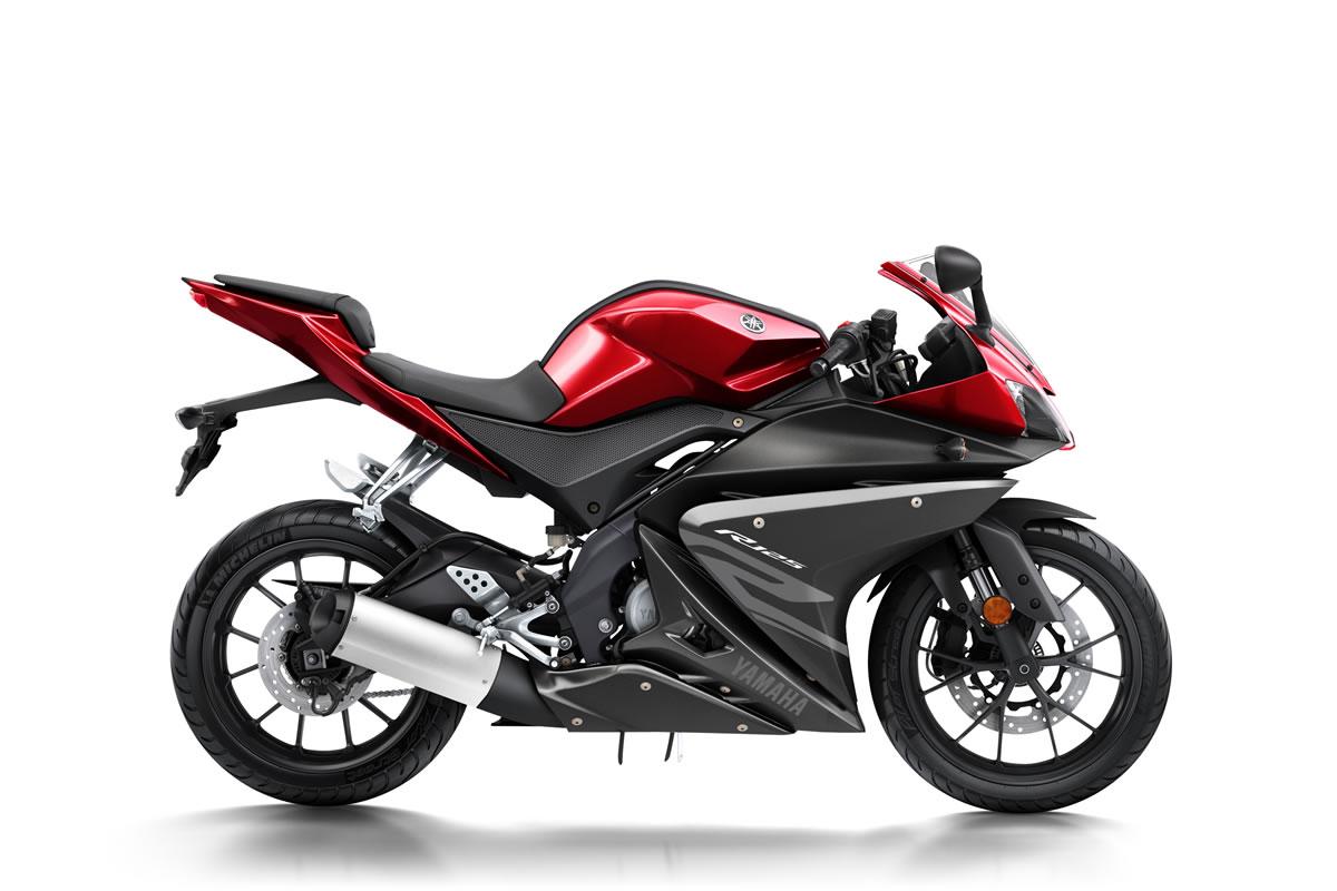 Radical Red YZF-R125