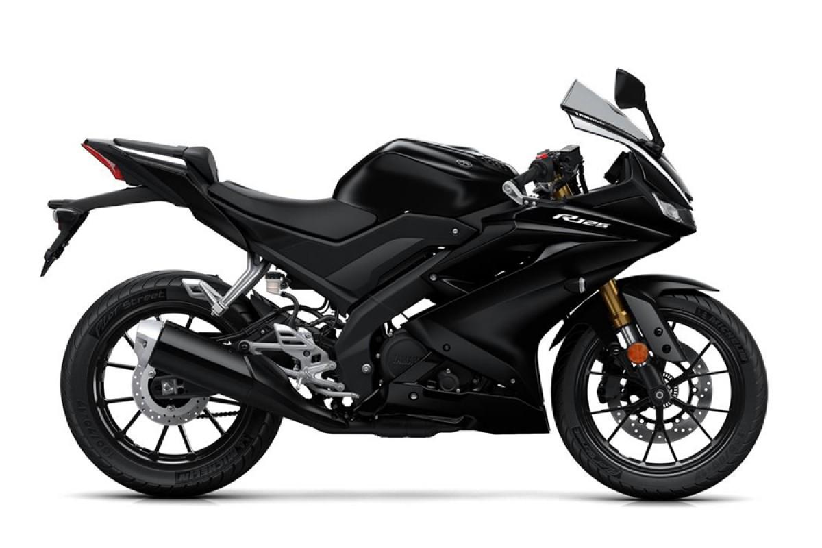 Tech Black YZF-R125