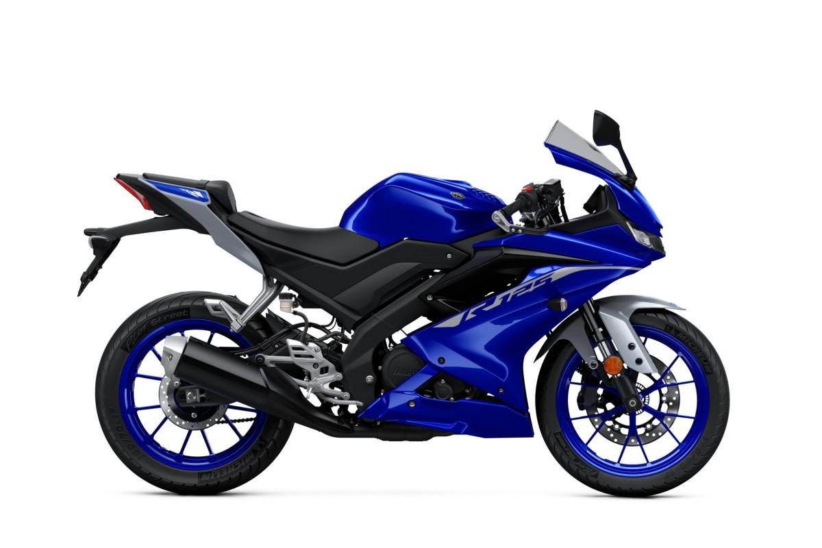 Icon Blue YZF-R125
