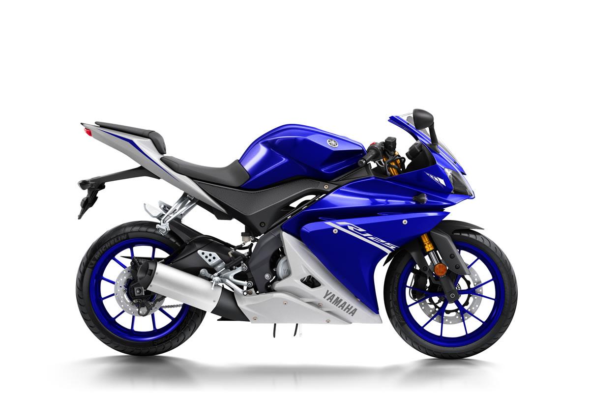 Blue YZF-R125