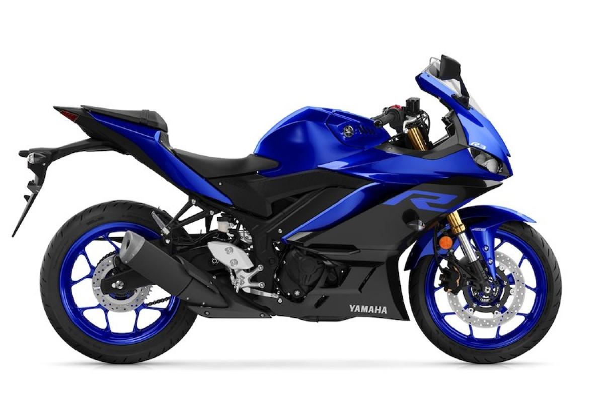 Race Blue YZF-R3