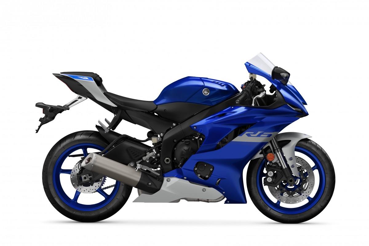 Icon Blue YZF-R6