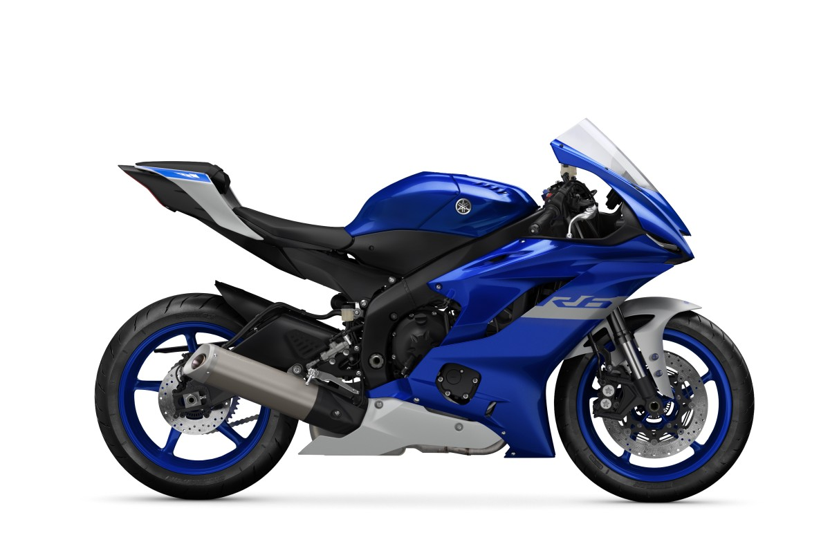 Icon Blue YZF-R6 RACE