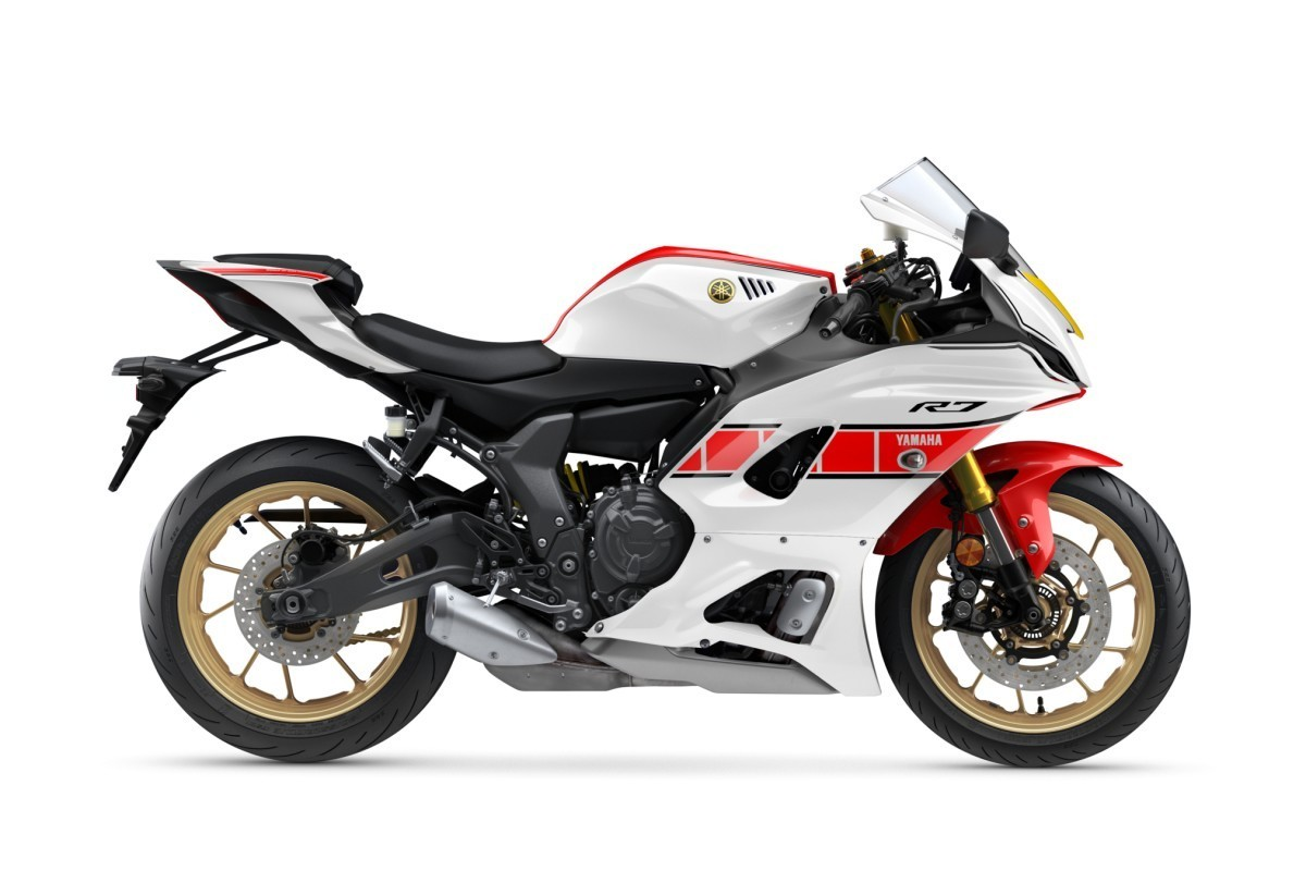 Yamaha YZF-R7 World GP 60th Anniversary